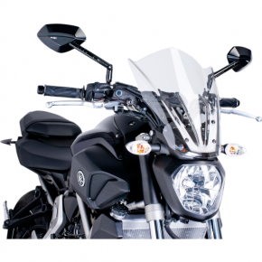 PUIG New Generation Windscreen - Clear - MT07