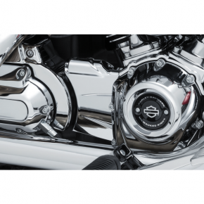 Kuryakyn Oil Line Cover - Precision - Chrome