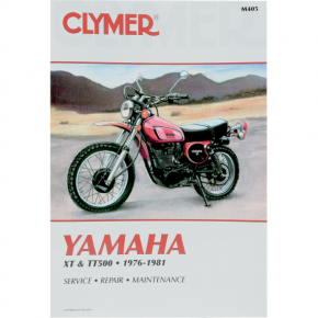 Clymer Manual - Yamaha XT/TT 500