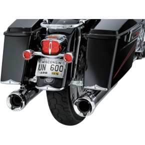 Kuryakyn Rear Fender Tip Accent - Chrome