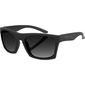 Bobster Capone Sunglasses - Matte Black - Smoke
