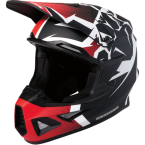 Moose Racing F.I. Agroid Helmet - MIPS - Red/Black - XL