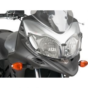 PUIG Protective Headlight Cover - VSTRM650  - Clear