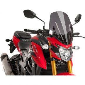 PUIG Race Windscreen - Dark Smoke - Tour - Suzuki