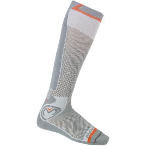 Moose Racing Sahara Socks - Gray - Small/Medium