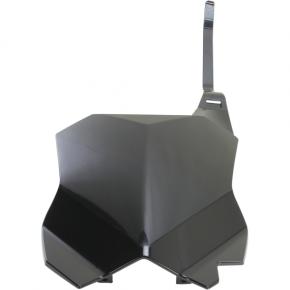 Acerbis Number Plate - KXF450 - Black