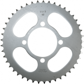 Sunstar Sprockets Rear Sprocket - 45-Tooth - Yamaha