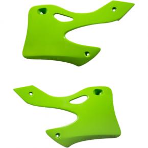 Acerbis Radiator Shrouds - KX 99-00 - Green