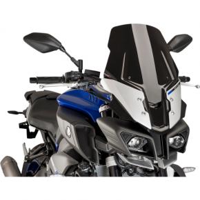 PUIG Race Windscreen - Black - Yamaha