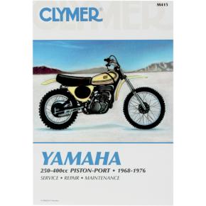 Clymer Manual - Yamaha 250-400 Piston-Port