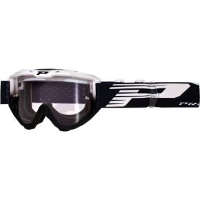 3450 Riot Goggles - Black/White - Light Sensitive