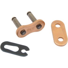 Enuma Chain (EK) 420 SH - Connecting Link - Clip - Gold