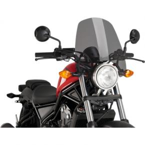 PUIG New Generation Windscreen - Dark Smoke - Rebel 500