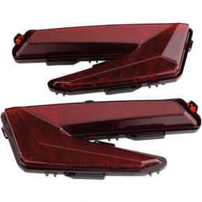Moose Racing LED Tail Lights - Can-Am X3 - Red