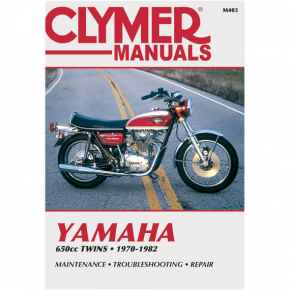 Clymer Manual - Yamaha 650 Twins