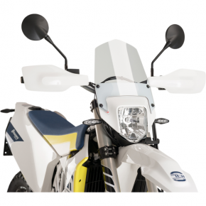 PUIG New Generation Windscreen - Clear - Husqvarna 701