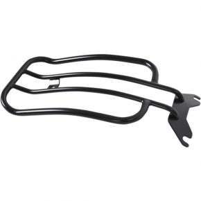Motherwell Luggage Rack - Matte Black - Softail