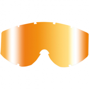 Goggle Lens - Orange Multilayered Mirror