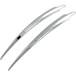 Kuryakyn Top Fender Accents - Chrome