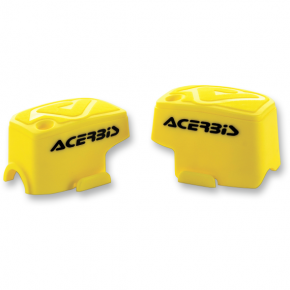 Acerbis Master Cylinder Cover - Brembo - Yellow