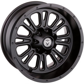 Moose Racing Wheel - 399MO - 12X7 - 4/136