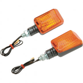 K and S Technologies DOT Marker Light - Ministalk - Carbon Fiber