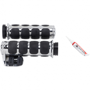 Kuryakyn Chrome ISO®-Grips for Cable