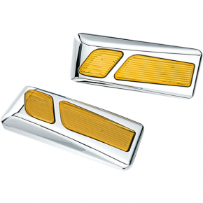 Kuryakyn LED Light Reflectors - Chrome