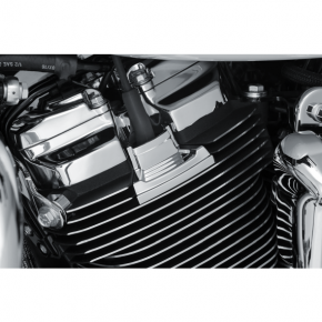 Kuryakyn Spark Plug Cover - Precision - Chrome