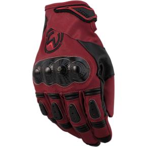Moose Racing XCR™ Gloves - Maroon/Black - Small