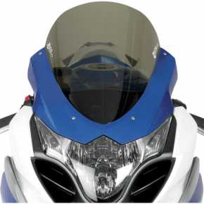 Zero Gravity Corsa Windscreen - Smoke - GSXR1 '09