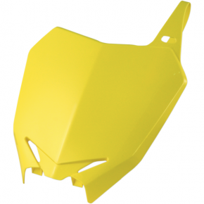 Acerbis Number Plate - RM 03 - Yellow