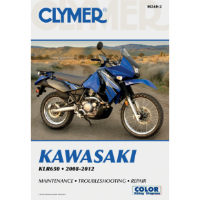 Clymer Manual - Kawasaki KLR 650 '08-'17