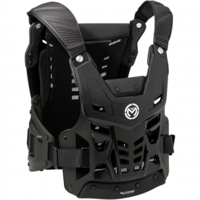 Moose Racing Synapse Lite Pro Roost Deflectors - Black - XL/2XL