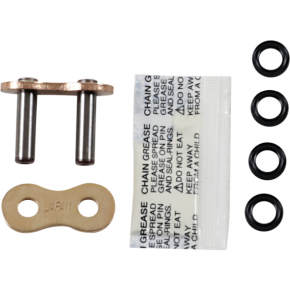 Enuma Chain (EK) 525 SRX2 - Connecting Link - Rivet - Gold