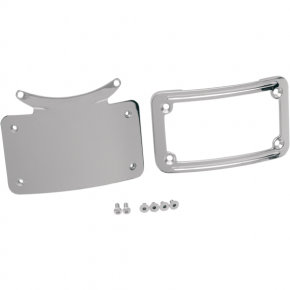 Kuryakyn Curved License Plate Frame