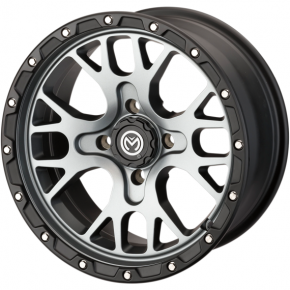 Moose Racing Wheel - 545MO - 15X7 - 4/136