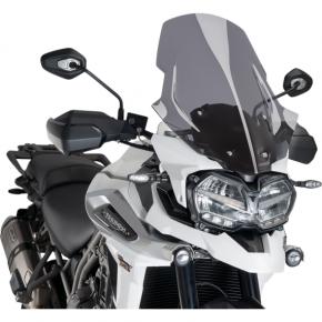 PUIG Race Windscreen - Dark Smoke - Tour - Tiger