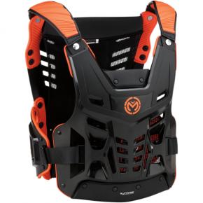 Moose Racing Synapse Lite Roost Deflector - Black/Orange - XL/2XL