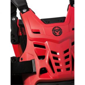 Moose Racing Synapse Lite Pro Roost Deflectors - Red/Black - M/L