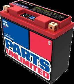 Parts Unlimited Li-Ion Battery - HJT12B-FP