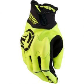 Moose Racing MX1™ Gloves - Hi-Viz Yellow - Small