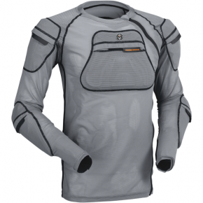 Moose Racing XC1 Body Armor - Gray - 2XL/3XL