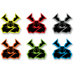 Moose Racing Agroid Decal - 6 Pack