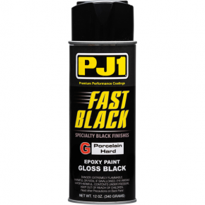 High-Temperature Paint - 12 oz - Gloss Black