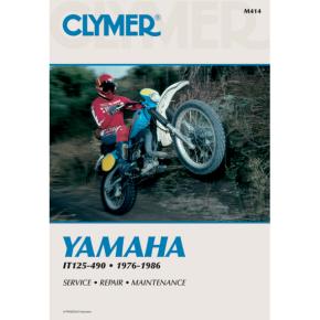 Clymer Manual - Yamaha IT125-490