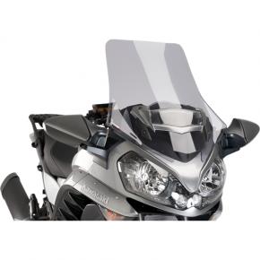 PUIG Race Windscreen - Light Smoke - Tour - Kawasaki