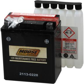 Moose Racing AGM Battery - YTX7L-BS