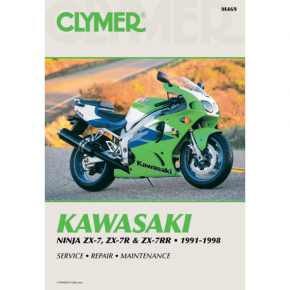 Clymer Manual - Kawasaki ZX7 Ninja
