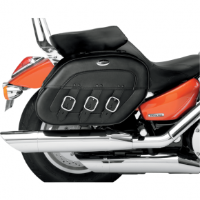 Saddlemen Drifter Rigid-Mount Specific-Fit Quick-Disconnect Saddlebags - C90